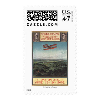 Wright Brothers Plane Postage