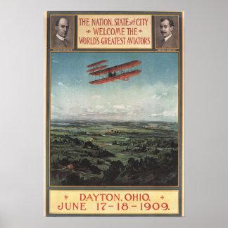 Wright Brothers Plane Print