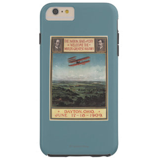 Wright Brothers Plane Tough iPhone 6 Plus Case