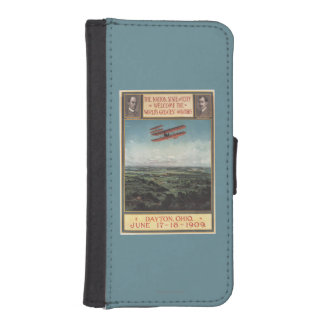 Wright Brothers Plane Wallet Phone Case For iPhone SE/5/5s