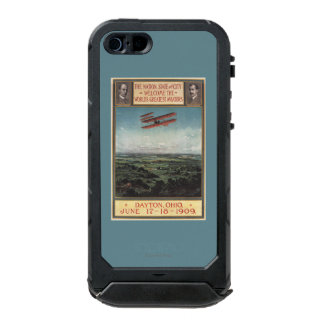 Wright Brothers Plane Waterproof iPhone SE/5/5s Case