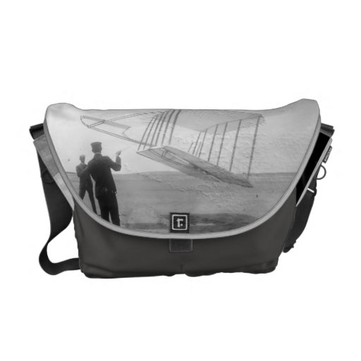 Wright Brothers Test Flight Messenger Bags