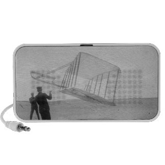 Wright Brothers Test Flight Portable Speaker