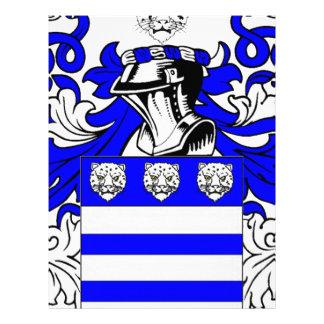 Wright Coat of Arms Custom Letterhead