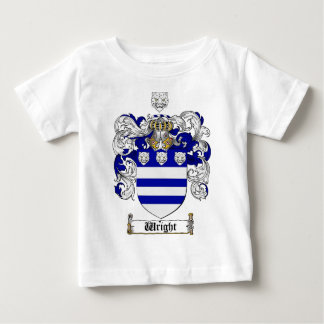 Wright Coat of Arms / Wright Family Crest Baby T-Shirt