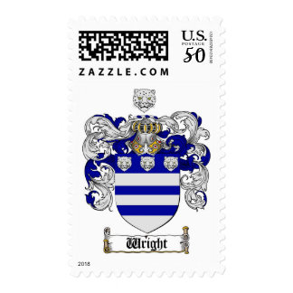 Wright Coat of Arms / Wright Family Crest Postage