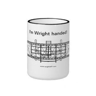 Wright de la materia de Wright dio la taza