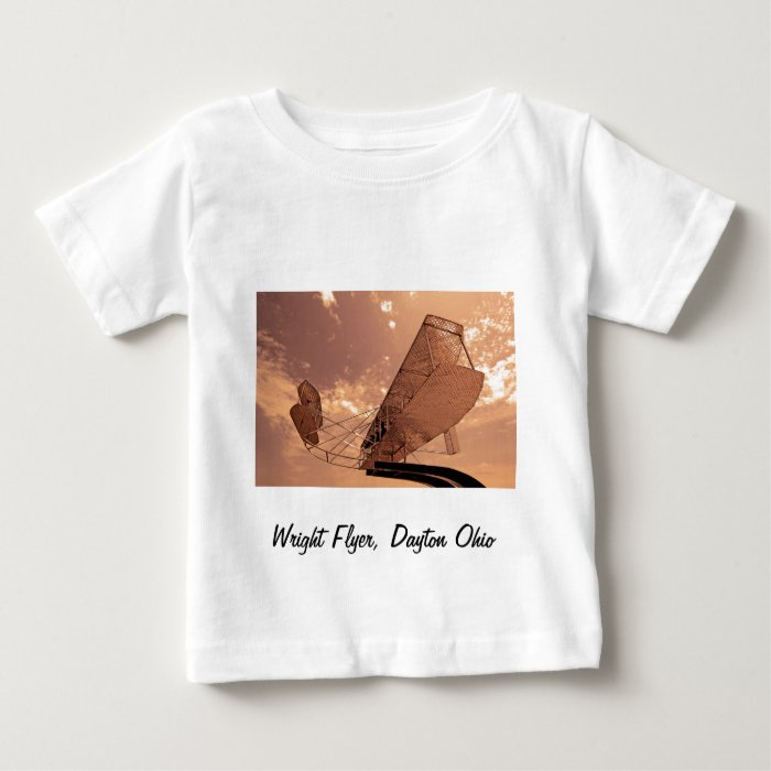 Wright Flyer Aircraft Baby T-Shirt