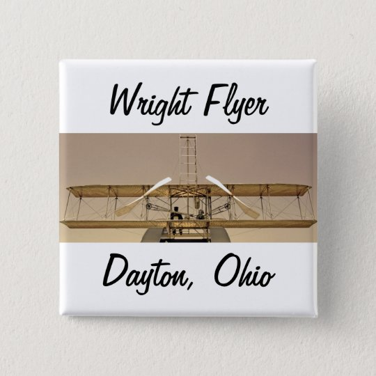 Wright Flyer Aircraft Button