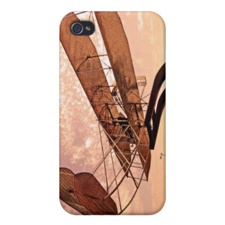 Wright Flyer Aircraft Cover For iPhone 4