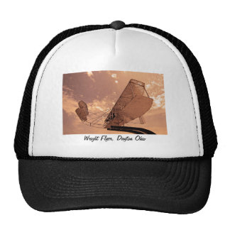 Wright Flyer Aircraft Mesh Hat