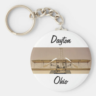 Wright Flyer Aircraft Keychain