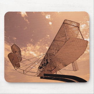 Wright Flyer Aircraft Mouse Pad