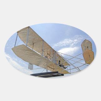 Wright Flyer Aircraft Sticker