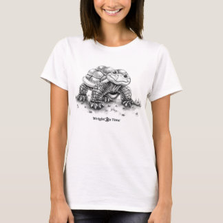 Wright on Time Books Turtle T-Shirt