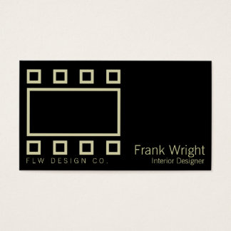Wright Rectangles & Squares Business Card
