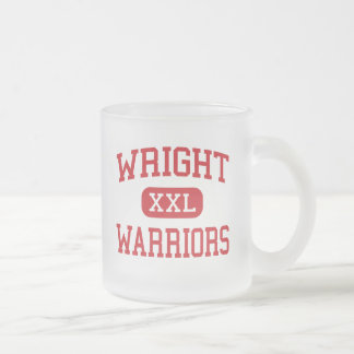 Wright - Warriors - Middle - Columbia 10 Oz Frosted Glass Coffee Mug