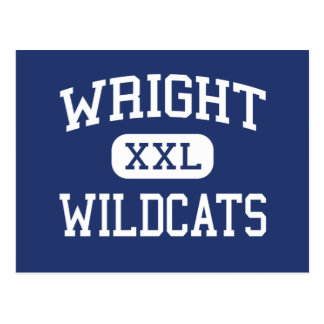 Wright Wildcats Middle Abbeville Postcard