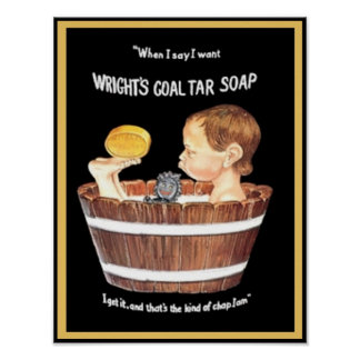 Wright's Coal Tar Soap Posters