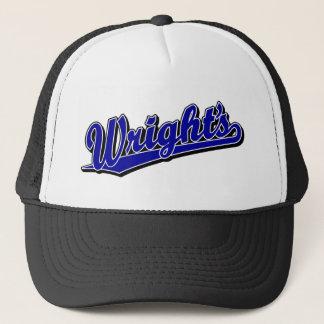 Wright's in Blue Trucker Hat