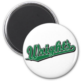 Wright's in Green Magnet
