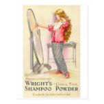Wrights Shampoo Powder Postcard