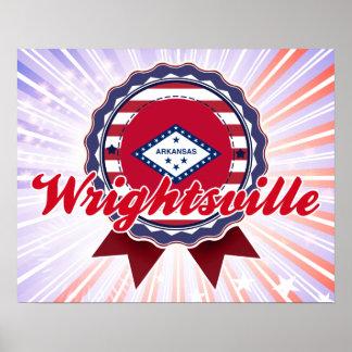 Wrightsville, AR Print