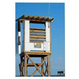 Wrightsville Beach Lifeguard Stand 5 Dry-Erase Whiteboard