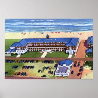 Wrightsville Beach North Carolina Ocean Terrace Poster