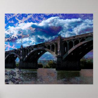 Wrightsville Bridge Poster