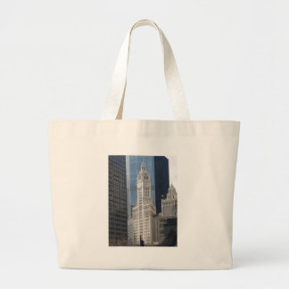 Wrigley Building Canvas Bags