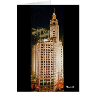 Wrigley Building, Chicago Greeting Cards