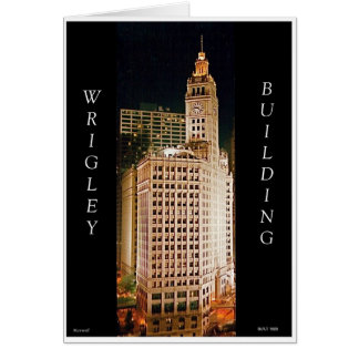 Wrigley Building, Chicago II Cards