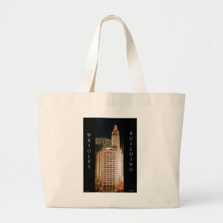 Wrigley Building, Chicago Large Tote Bag