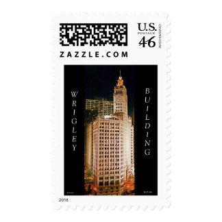 Wrigley Building, Chicago Postage