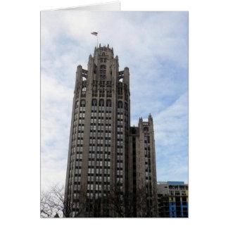 wrigley chicago greeting card