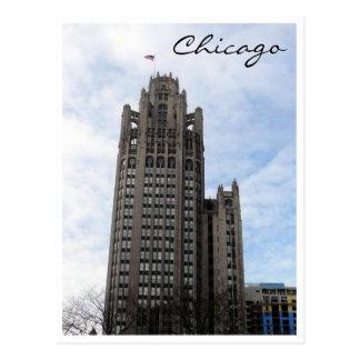 wrigley chicago post card