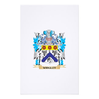 Wrigley Coat of Arms - Family Crest Personalized Stationery