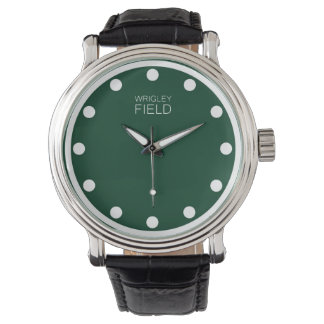 wrigley field wrist watch