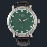 """wrigley field wristwatch<br><div class=""""desc"""">wrigley field clock watches</div>"""