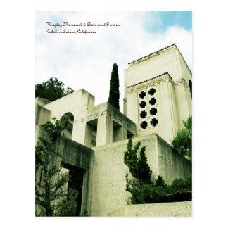 Wrigley Memorial & Botanical Garden Postcard
