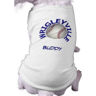 Wrigleyville Custom Name Canine T-Shirt