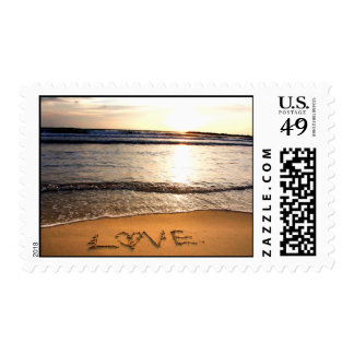 Wriiten with Love Postage Stamp