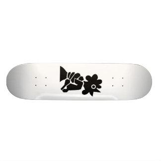 Wringing a chicken's neck skateboard deck