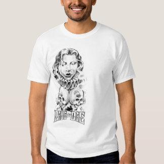 wrinkle gold die T-Shirt
