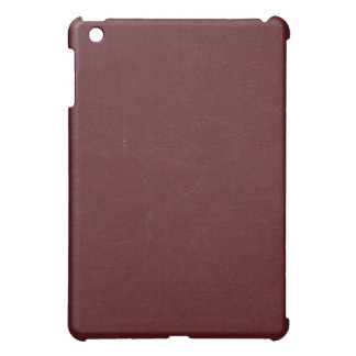 Wrinkled Burgundy Book Cover iPad Case