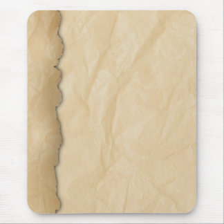 Wrinkled Crinkle Paper Mouse Pad