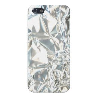 Wrinkled Metal Foil iPhone Case