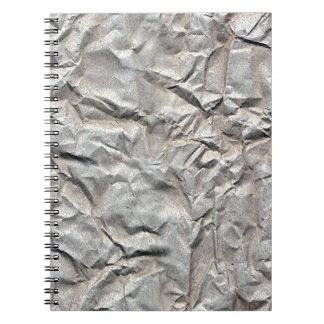 Wrinkled Paper Spiral Notebooks