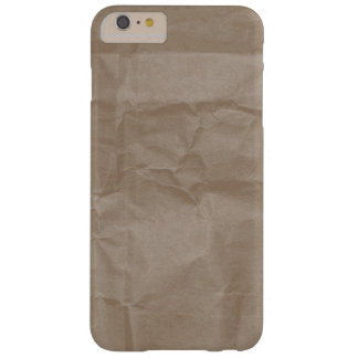 Wrinkled paper texture design barely there iPhone 6 plus case